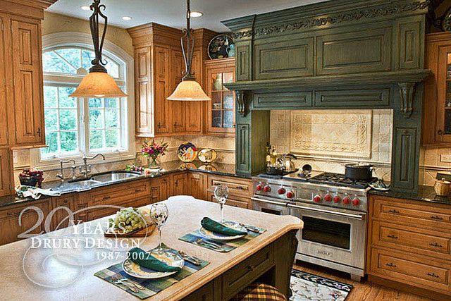 Traditional kitchen design by drury design kitchen bath - Drury design kitchen bath studio ...