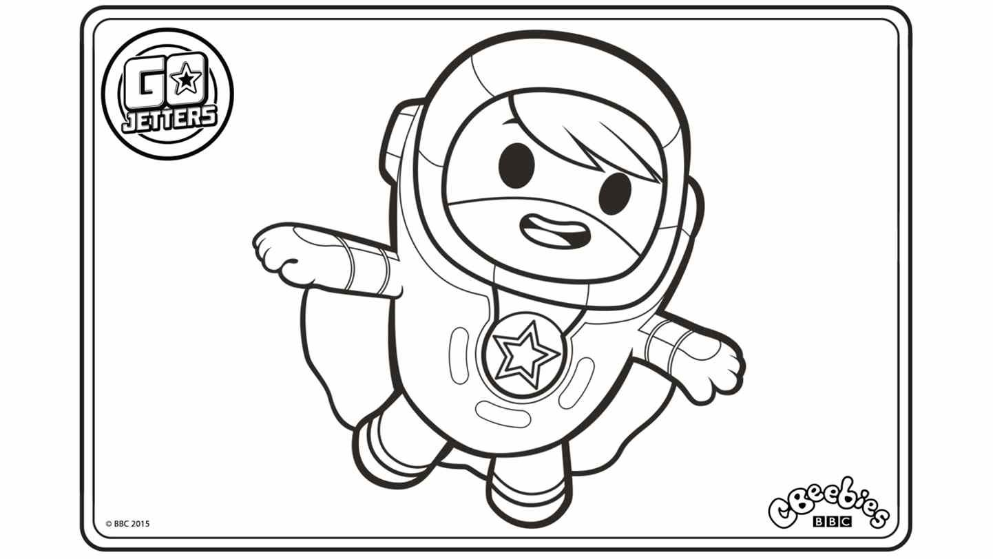 Go Jetters Coloring Pages