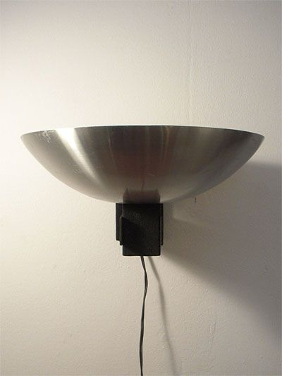 Industrial wall light produced by Raak, Amsterdam in the sixties ...