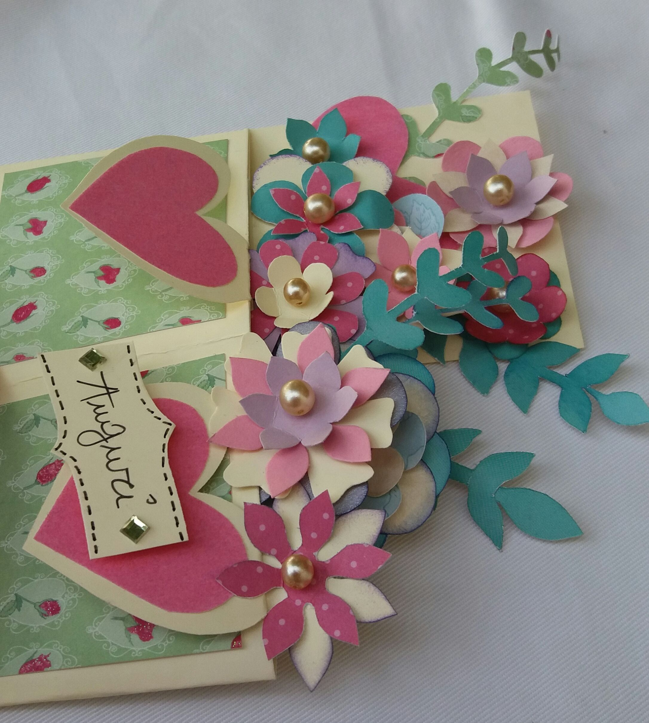 Pop Up Card Box Of Flowers Pop Up Card Beautiful And A Great