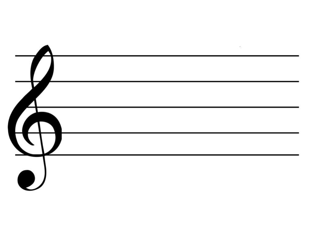 printable music staff
