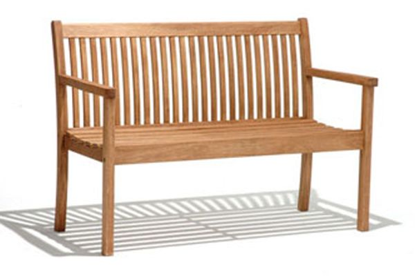 Kingsbury 2 Seater Bench Quality Hardwood Garden Furniture