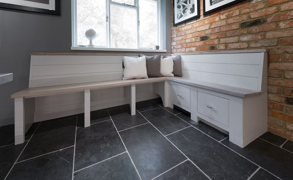 Neptune Buckland Bench Seating With Drawers Boot Room