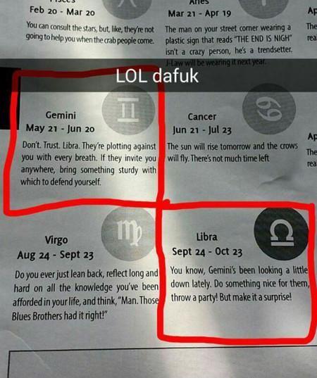 ☼ lauren ☼ ☾☼ #Horoscopes #Weird