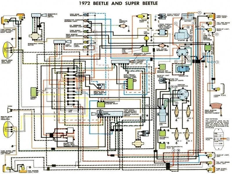 1972 Beetle Wiring Diagram Thegoldenbug Wiring Forums Vw Super Beetle Diagram Design Volkswagen Car