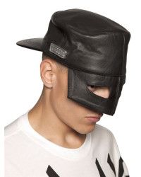 8e92b7e8063dc6 KTZ Leather Mask Hat - Lyst | Head Kandy | Hats, Leather mask, Hat ...