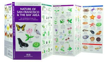 Laminated pamphlet-sized field guides. Perfect for kids to tote on family hikes.