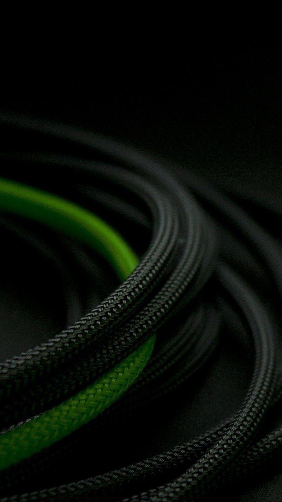 3d Black Green Rope Black Phone Wallpaper Mobile Wallpaper Hd Wallpapers For Mobile