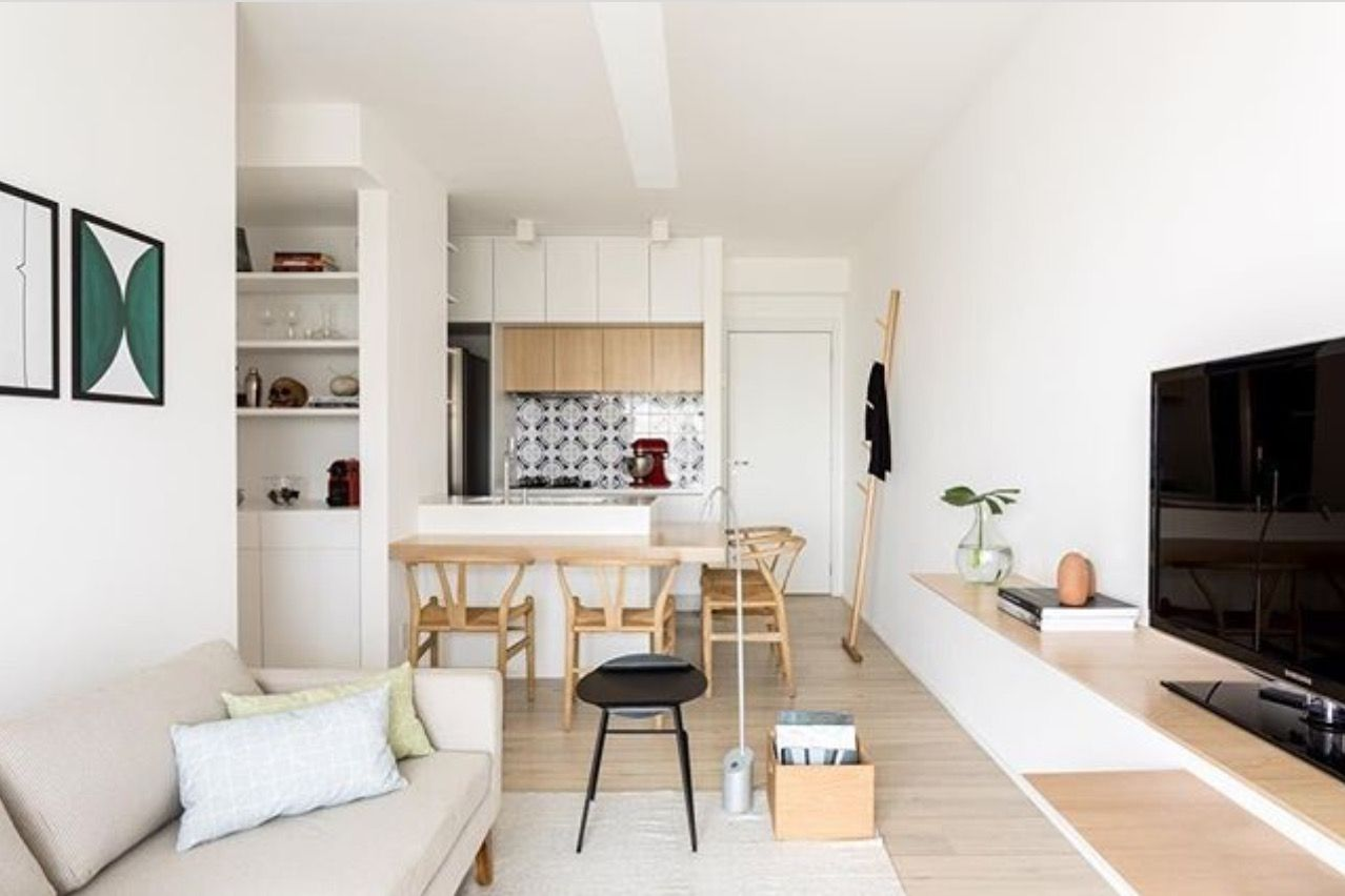 Pin by Eliana Benjovengo on Ambientes pequenos | Open ...