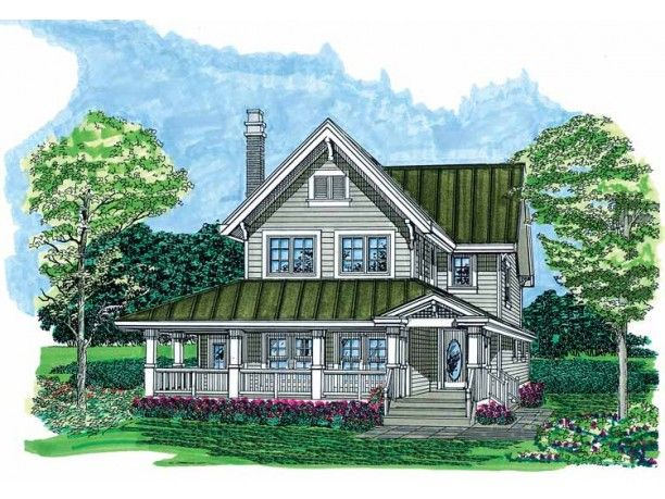 Country Style House Plan 3 Beds 2 5 Baths 1568 Sq Ft Plan 47 1022 Farmhouse Style House Plans Country Style House Plans House Plans Farmhouse