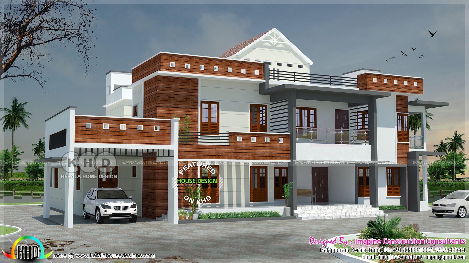 6 Bedroom Modern Luxury Home Plan