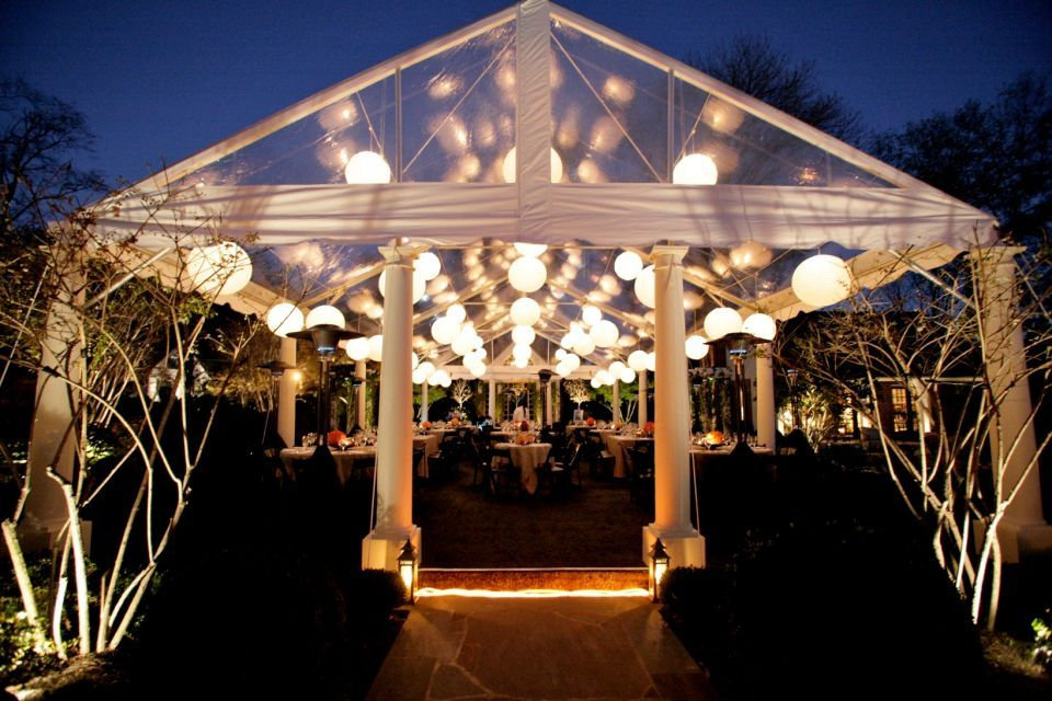 Thinking About An Outdoor Wedding This Would Be Perfect