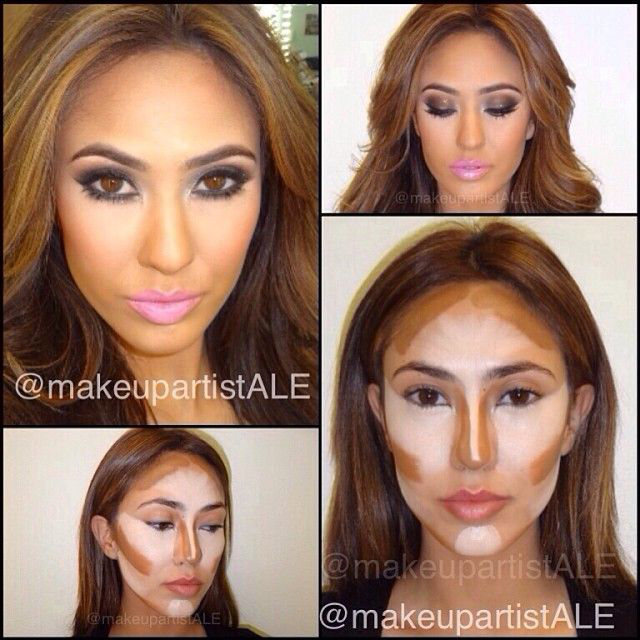 The Art of Contouring and Highlighting - Renewed Style ...