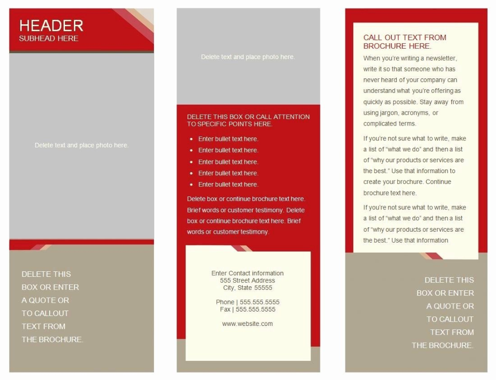 Panel Brochure Template Google Docs Inside Tri Fold Brochure Template Google Docs 10 Professional Free Brochure Template Pamphlet Template Brochure Template