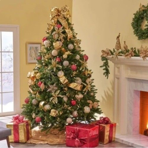 Details about 45ft Artificial Norway Spruce Christmas Tree With