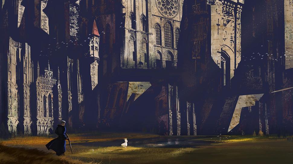 Risultati immagini per fantasy city wall fan art