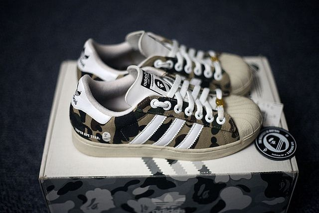 Adidas Super Ape (Bape) Star & Adidas Super Ape (A Bathing