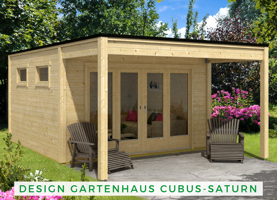 Design Gartenhaus Cubus-Saturn-40 | Design Gartenhaus in ...