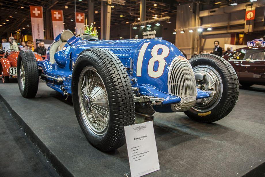 Bugatti t59 grand prix peter wiesner stand bugatti for Prix stand salon