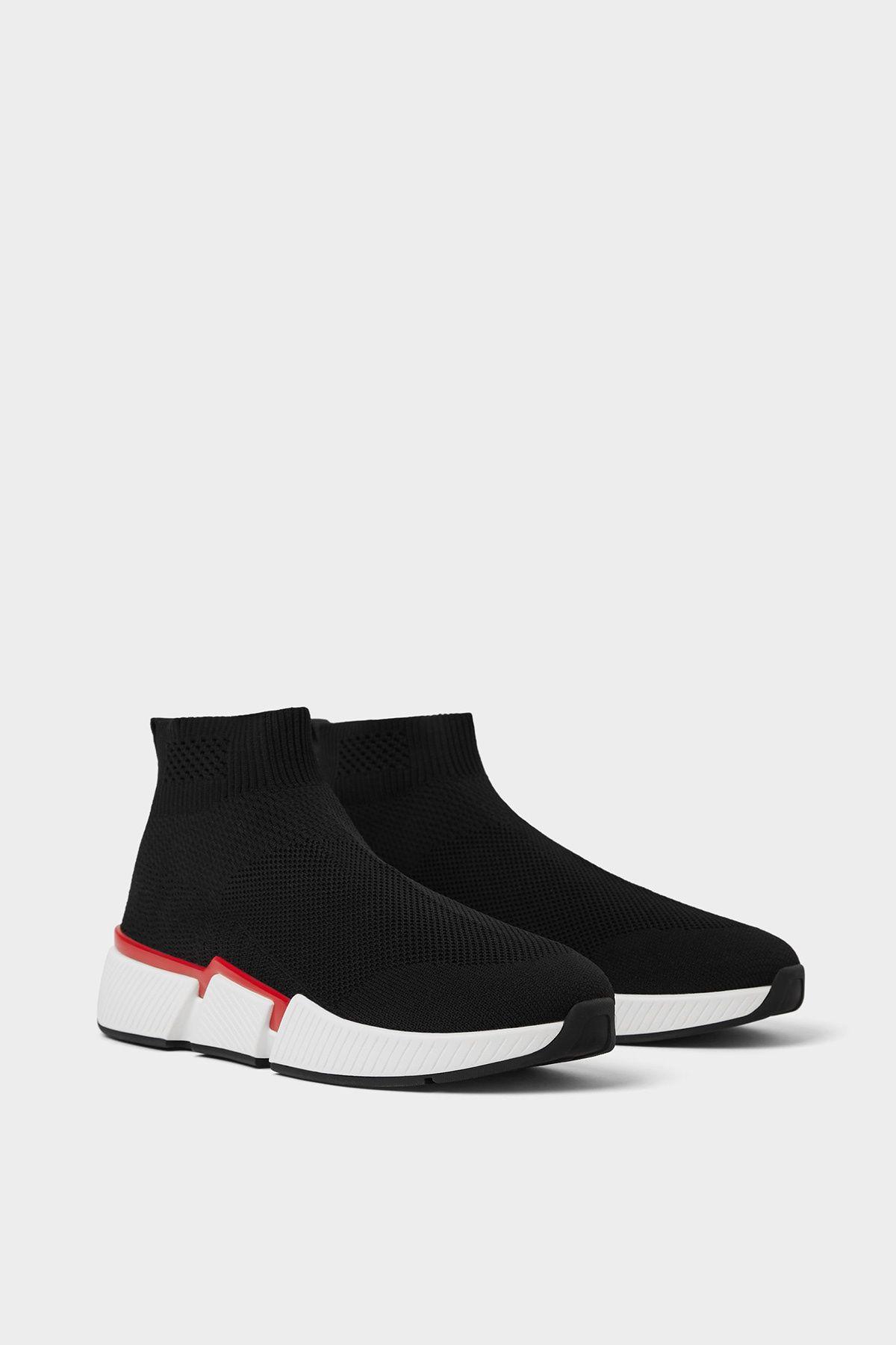 Flyknit sock for Zara man on Behance