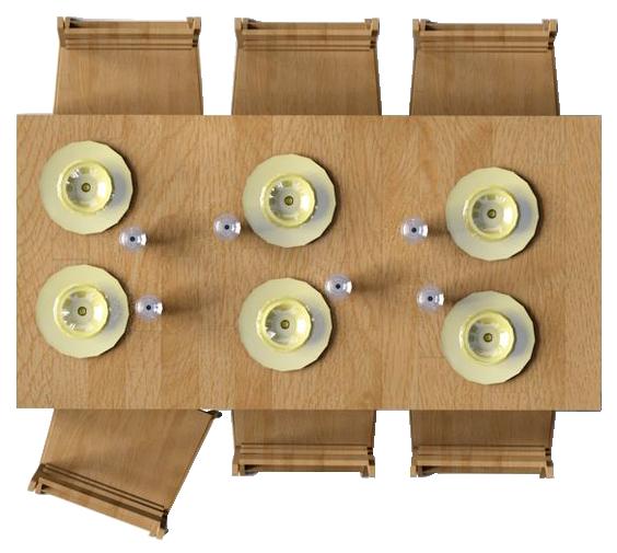 Pin de zurisadai castrejon en muebles png en planta for Comedor en planta