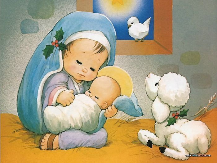 The Christmas Story: The Birth of Jesus Wallpapers - Jesus was ...