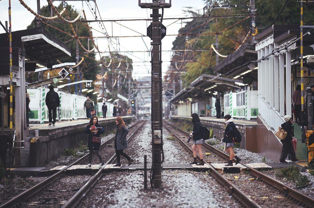 踏切・北鎌倉駅 | Kita-Kamakura station