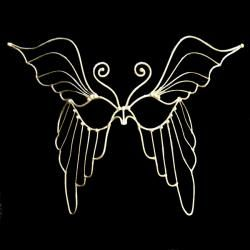 Butterfly Bronze Mask