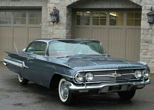 1960 Chevrolet Impala Sport Coupe With Images Chevrolet Impala