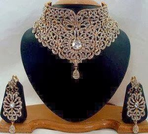 Beautiful Latest Bridal Wedding Jewellery Sets 201415 jewelry