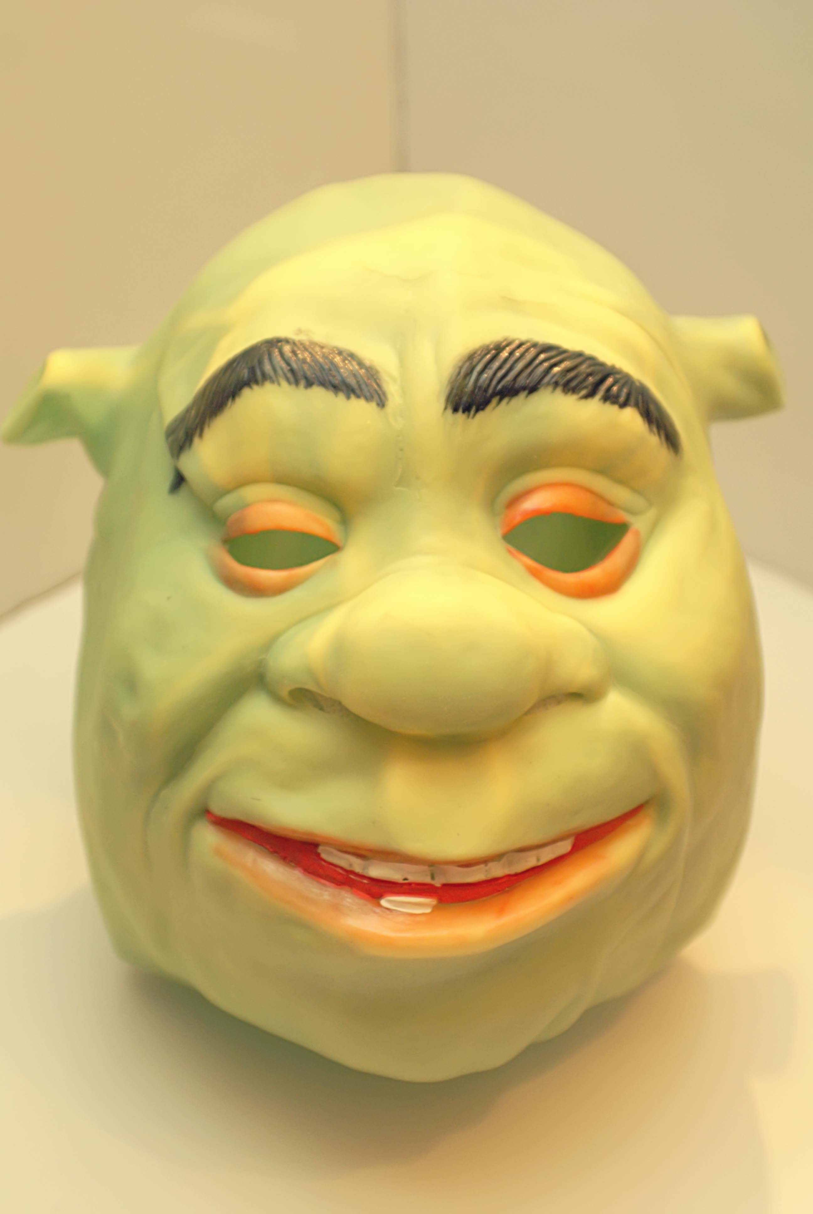 Пин на доске Shrek Latex Rubber mask From the movie Shrek