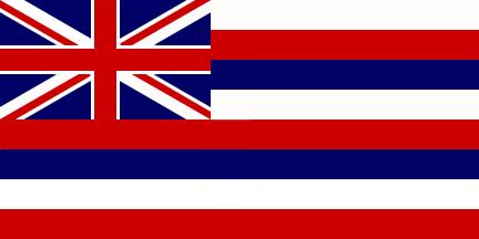 Flag Of Hawaii 1896