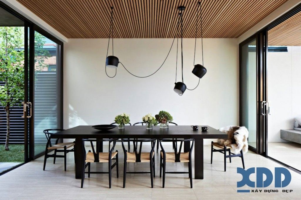 Oban House Is A Modern Property With Natural And Organic Material Pallet By Building Company AGUSHI Workroom Design In South Yarra Melbourne Australia