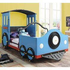 Train Twin Bed Big Boy Bed Train Bed Kid Beds Bed