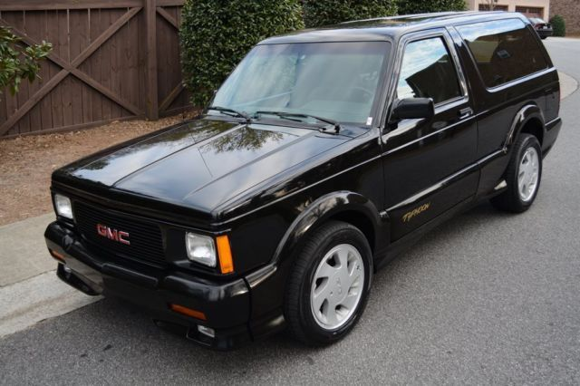 1993 Gmc Jimmy Typhoon 25 784 Miles Black 6 Auto For Sale Photos