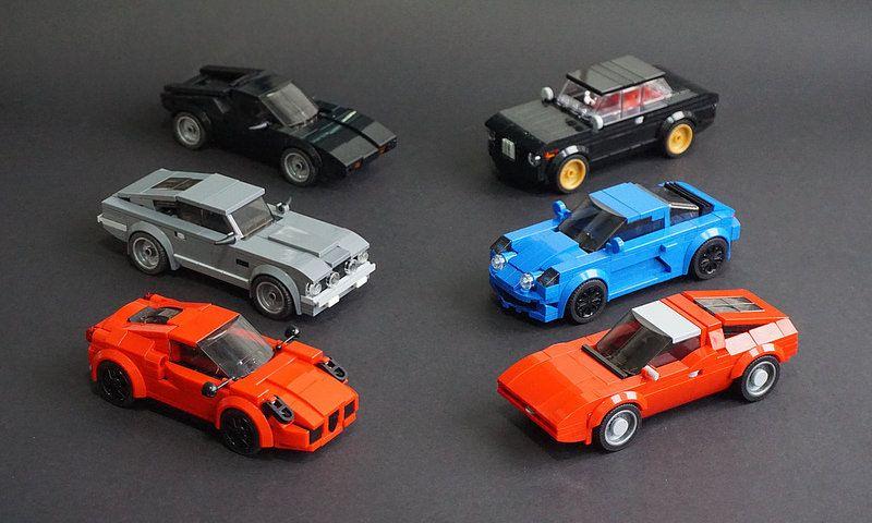 Jeux de Construction Speed Champions Porsche 911 Turbo Jouet Enfants Voiture