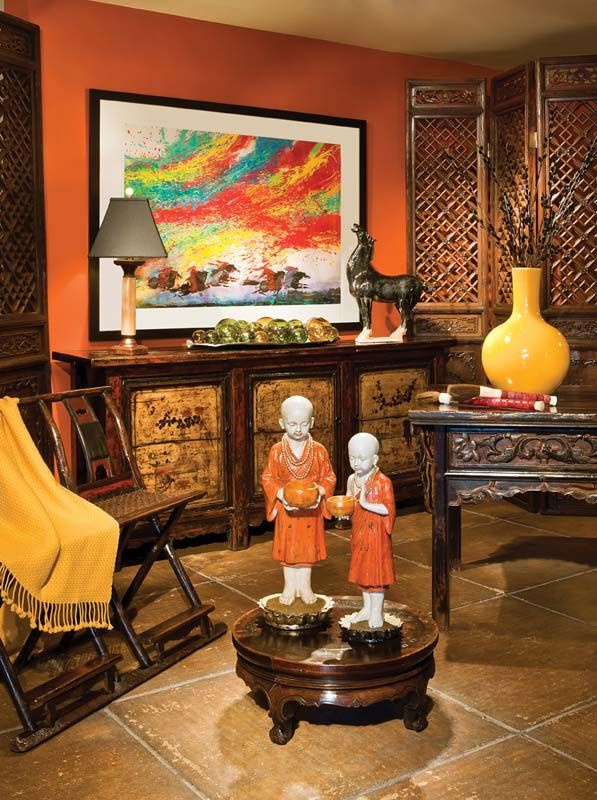 Beau Furniture At Asian Adobe | Santa Fe, New Mexico