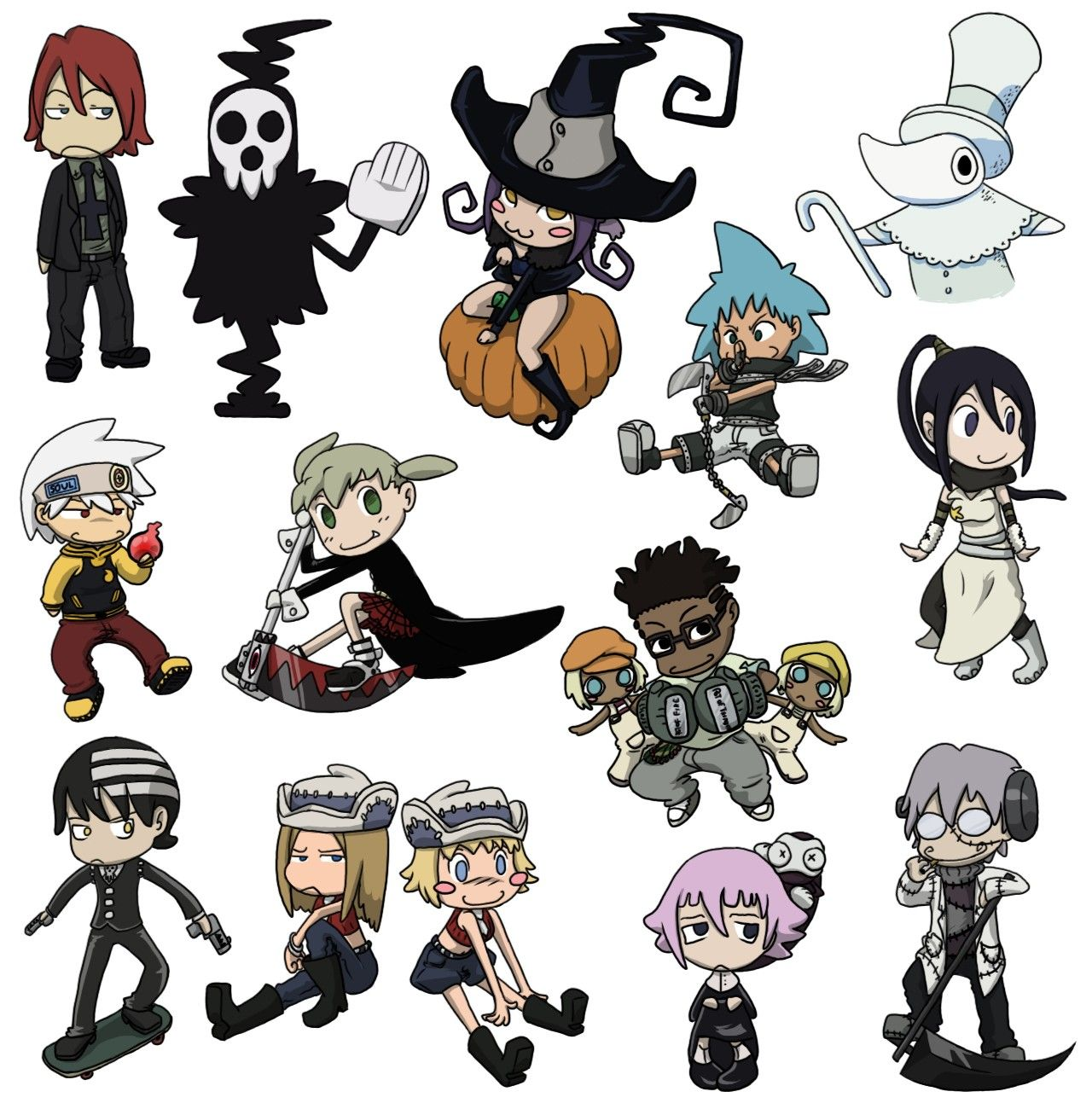 Pics For > Soul Eater Chibi | Anime and Vocaloid ...