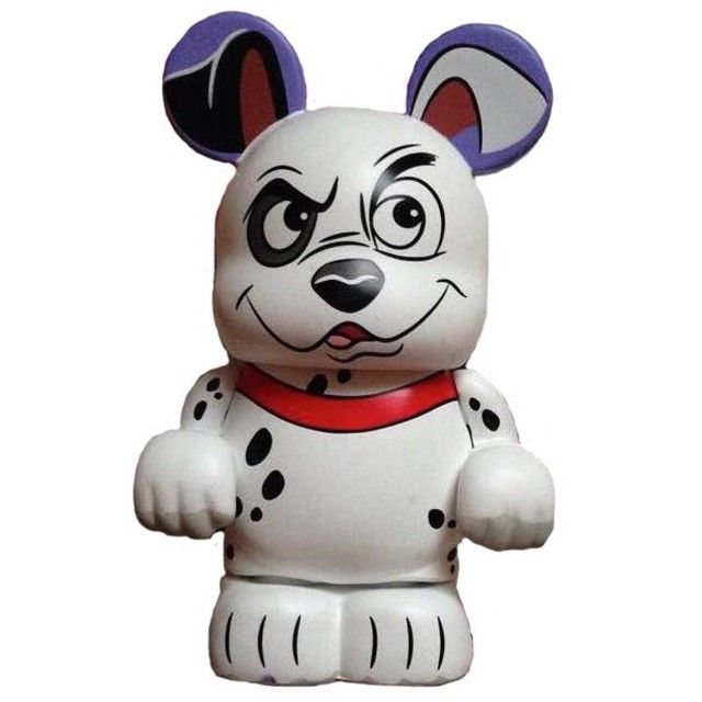 Patch the Mystery Chaser from the 101 Dalmatians Vinylmation Series.  #Disney