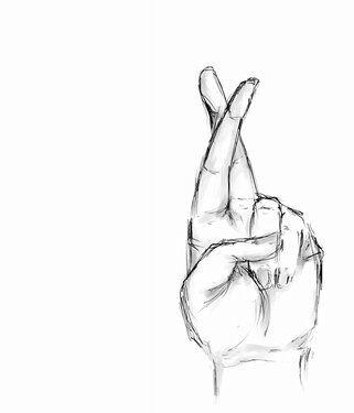 Always Keep Those Fingers Crossed Good Things Are Always Around