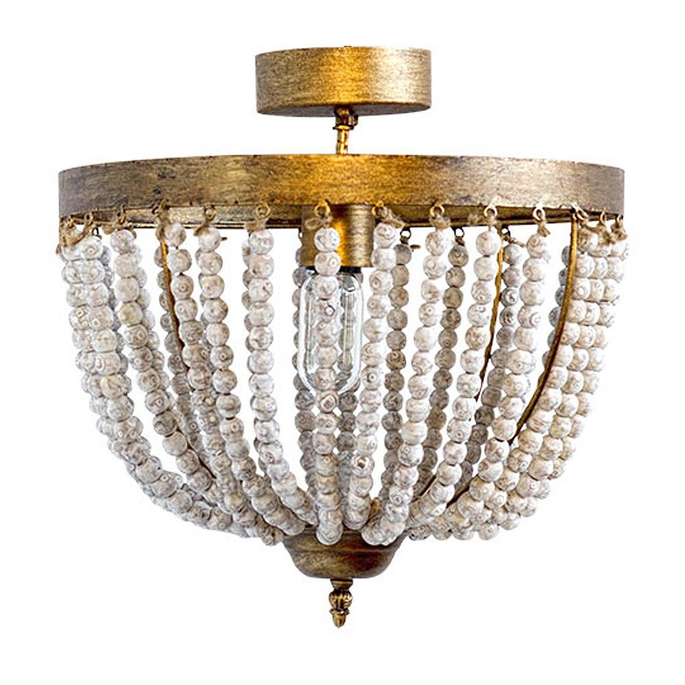 Candelabra Home Perle Ceiling Mount | Semi-Flush Mount | Ceiling ...
