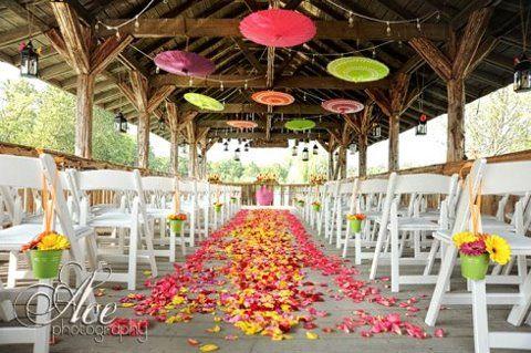 Awesome Park Wedding Ideas Intimate Glacier National Park Wedding Aisle Decor At  Windward Beach Park