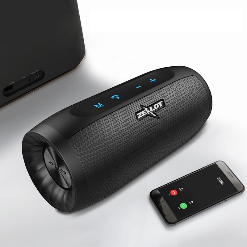Zealot S16 Hifi Portable Bluetooth Speaker Dual Units 4000mah Outdoors Waterproof Tf Card Soundbar Audio Video Devices From Consumer Electronics On Banggood C Bluetooth Speakers Portable Speaker The Unit