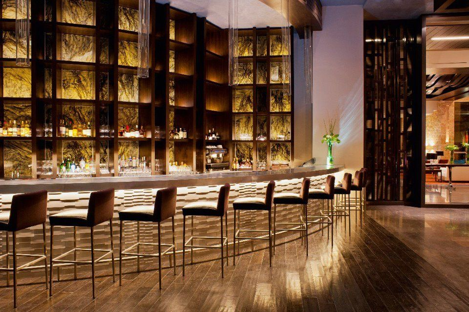 Incredible bar lounge luxury hotel design bistro - Top interior design firms chicago ...