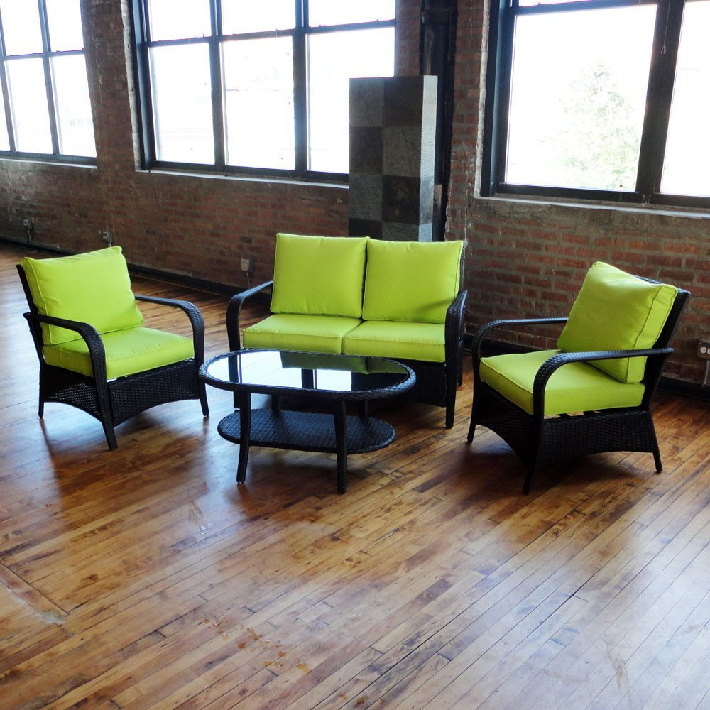 Exceptional Lime Green Patio Furniture