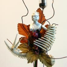 """Entrails:   Botanical Creature. Mixed Media.  (10"""" by 5"""" by 5"""") beth mullins"""