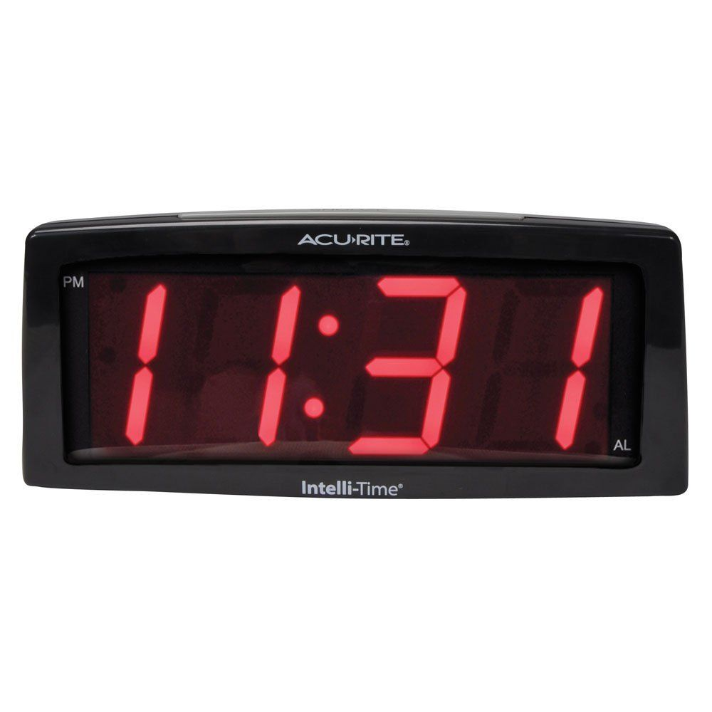 Small Digital Wall Clock With Images Alarm Clock Digital Alarm Clock Clock