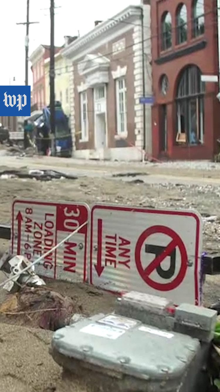 Downtown Ellicott City, Md., destroyed by flooding — The