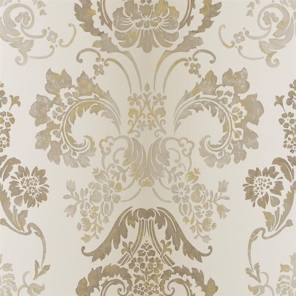 kashgar - linen wallpaper   Designers Guild   home decorating ...