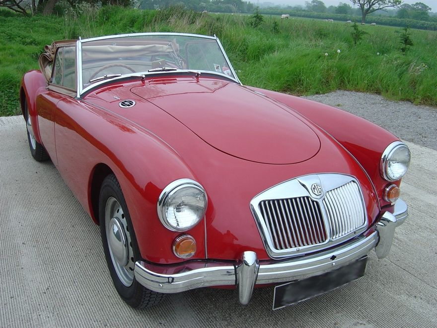 MG MGA 1960 Red For Sale, (Car Advert 298436) | ClassicCarsForSale ...